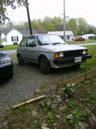 Chuck - a 1984 MK1 VW GTI